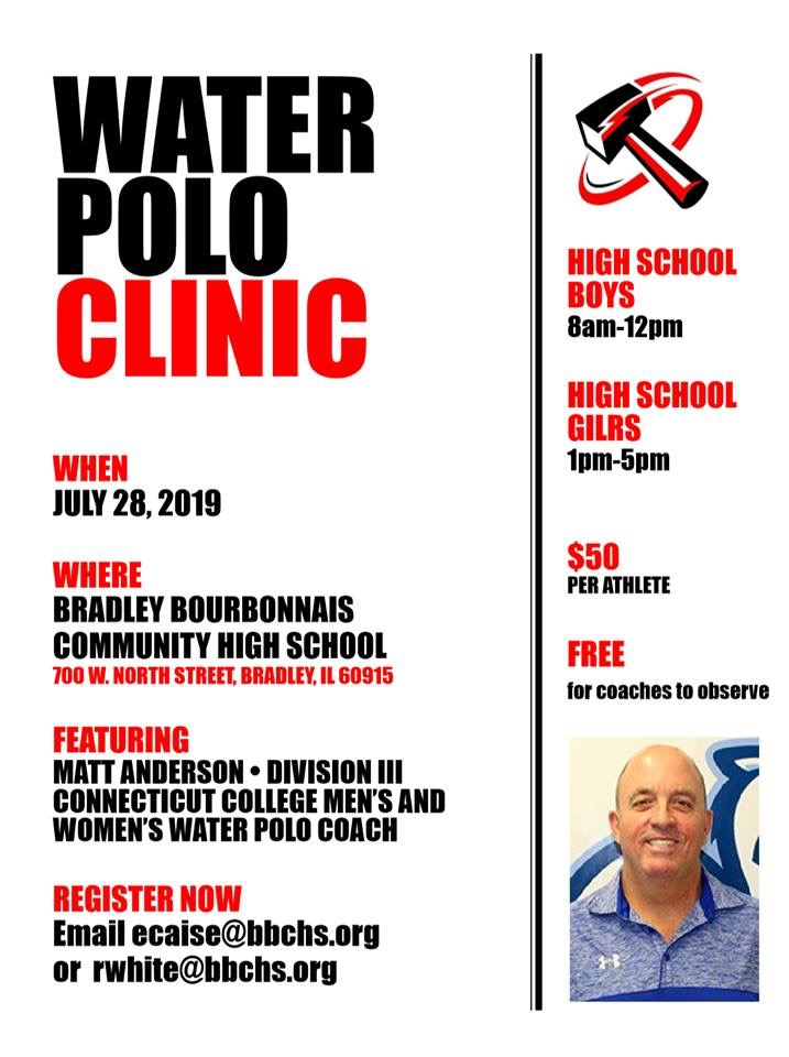 BBCHS Water Polo Clinic